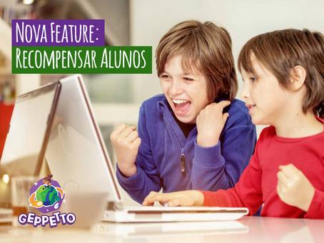 Nova Feature: Recompensar Alunos