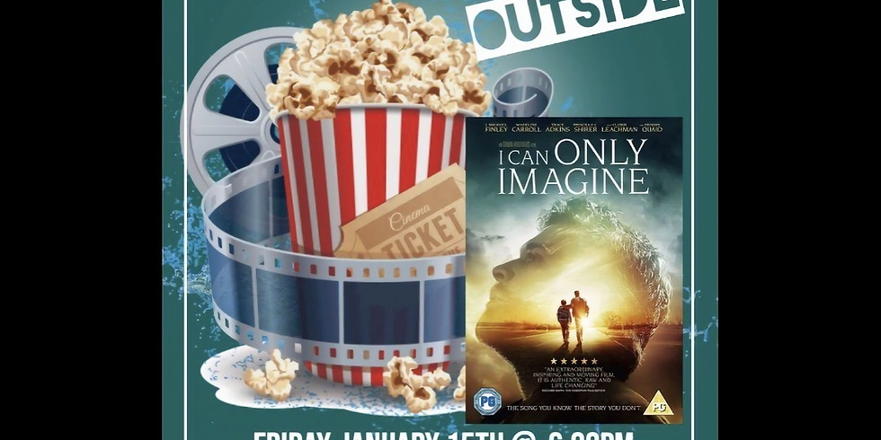 Outside Youth Group Movie Night