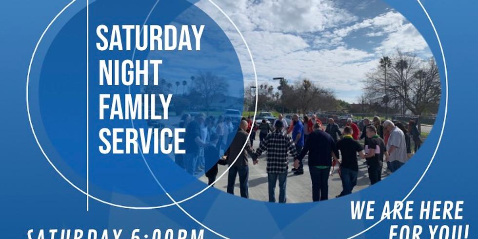 Saturday Night Family Service