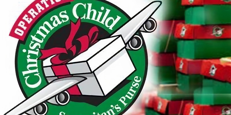 Operation Christmas Packing Party