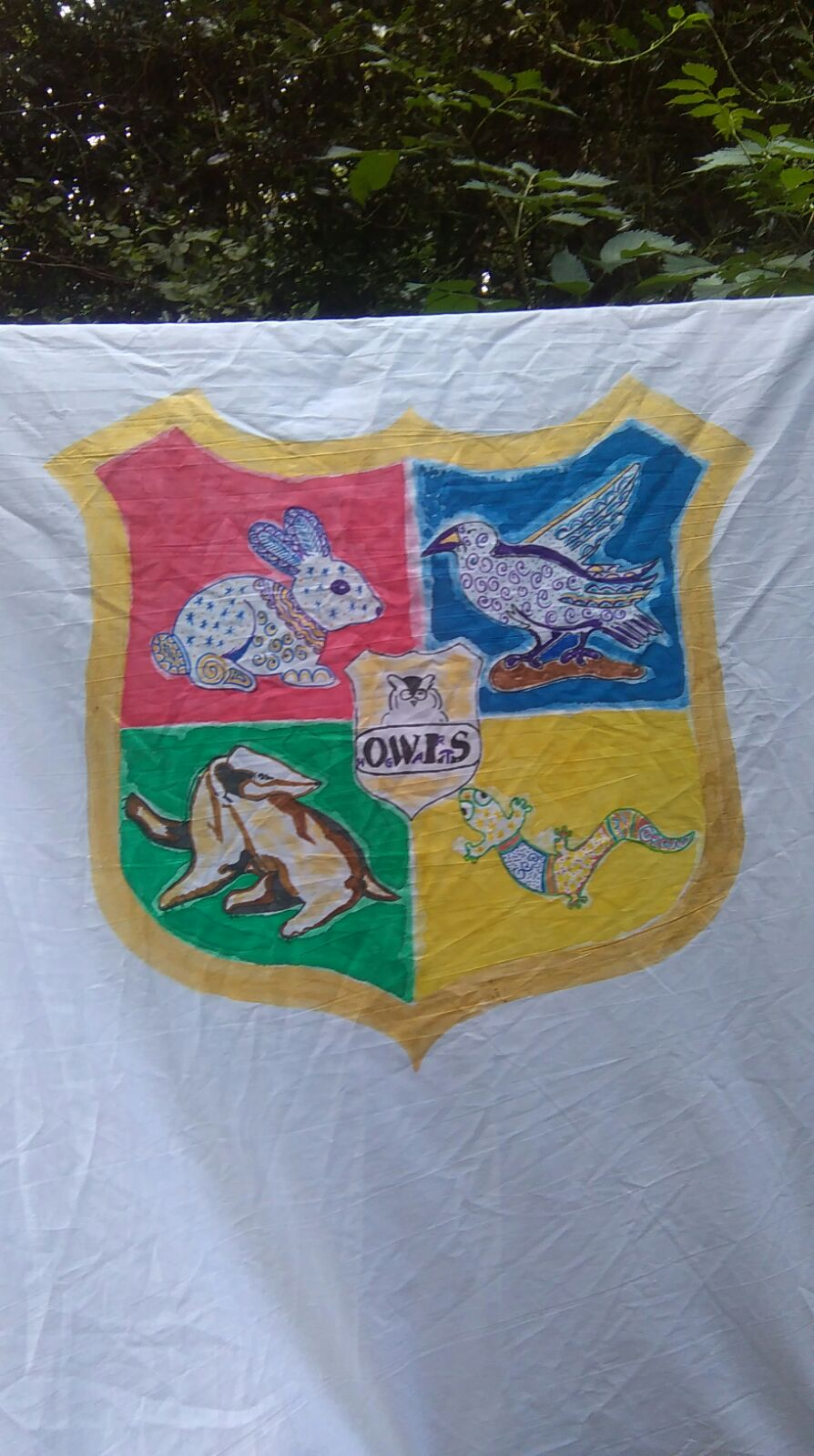OWLS School of Wizardry Banner