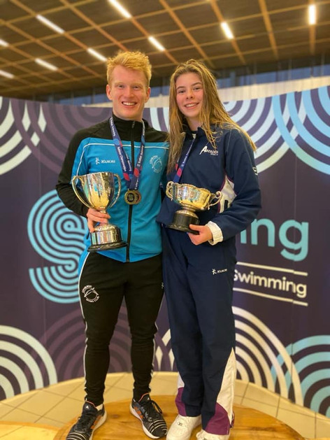 Clara Kerr - Womens 3m Scottish National Champion