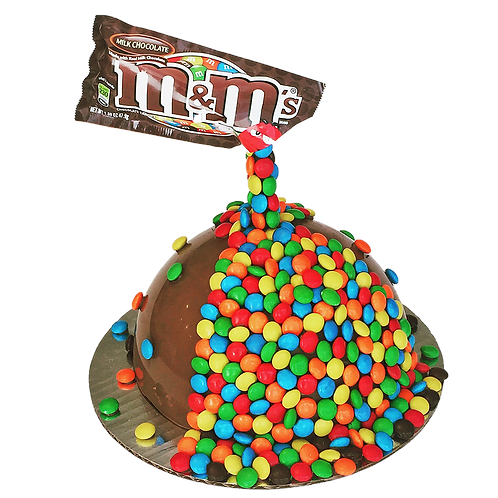 M&M's Illusion SmashCake