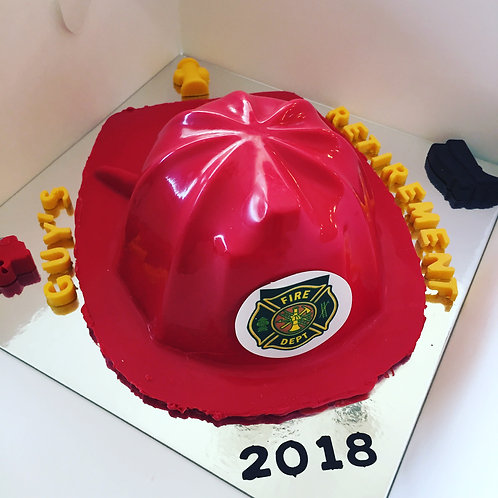 Fireman Hat SmashCake
