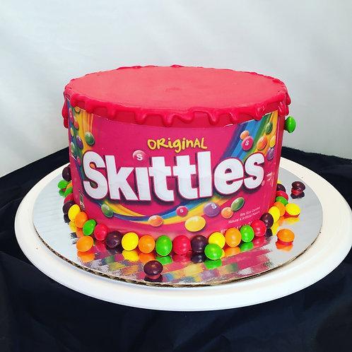 Skittles SmashCake