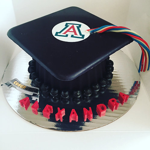 Personalized Graduation Cap SmashCake