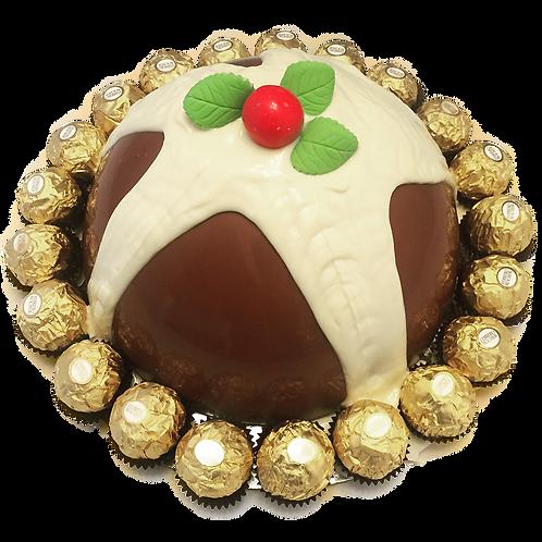 Christmas Pudding SmashCake