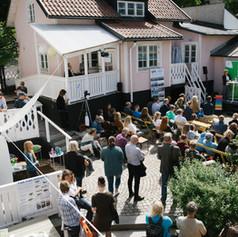Innergården utan tak. Foto Linnea Ronström