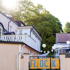 Västra entrén, Rosa Gården