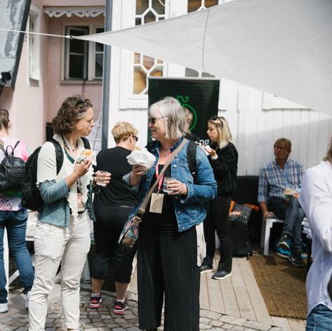 Mingel Almedalsveckan 2019. Foto Linnea Ronström