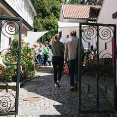 Ingång västra entrén. Foto Linnea Ronström