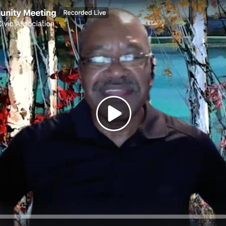 Watch the August LHCA Community Meeting