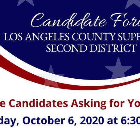 RSVP for Herb Wesson x Holly Mitchell Candidate Forum