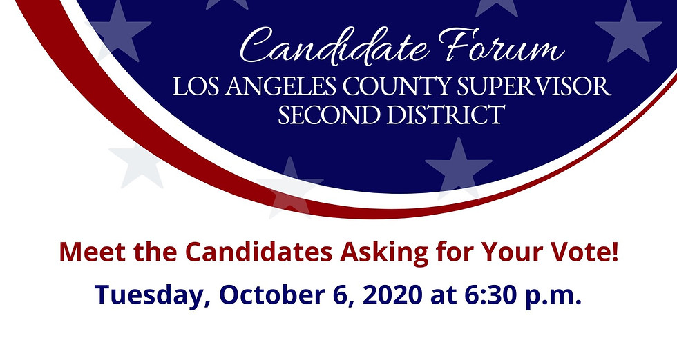 Board of Supervisors Candidate Forum
