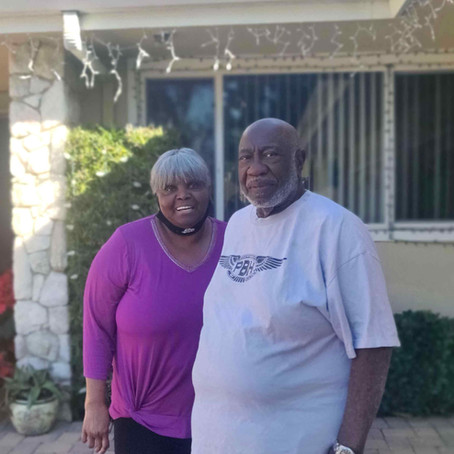 December Good Neighbor of the Month – John & Patsy