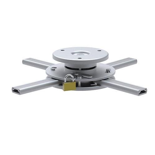 Support plafond vidéoprojecteur, Hauteur 6cm, Diamètre 16-33cm