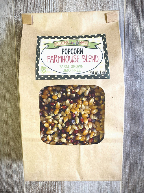 1 Kg Bag Farmhouse Blend Popcorn
