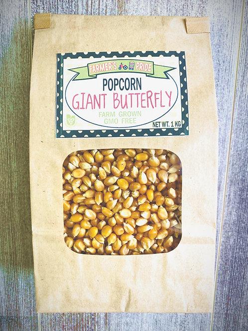 1 Kg Bag Giant Butterfly Popcorn
