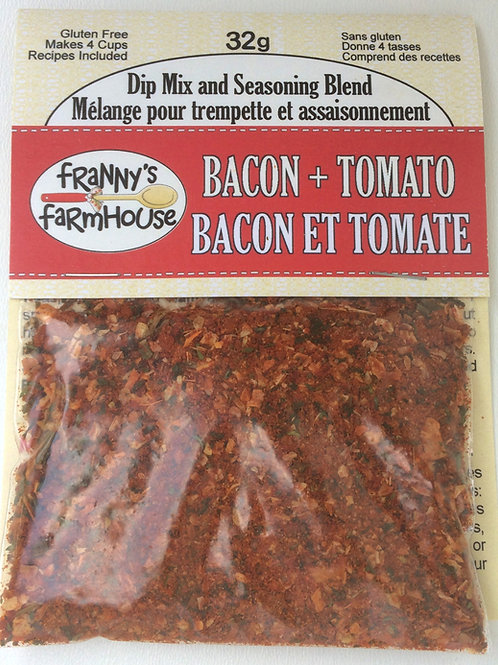 Bacon & Tomato Dip Mix and Seasoning Blend