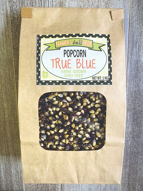 1 Kg Bag True Blue Popcorn