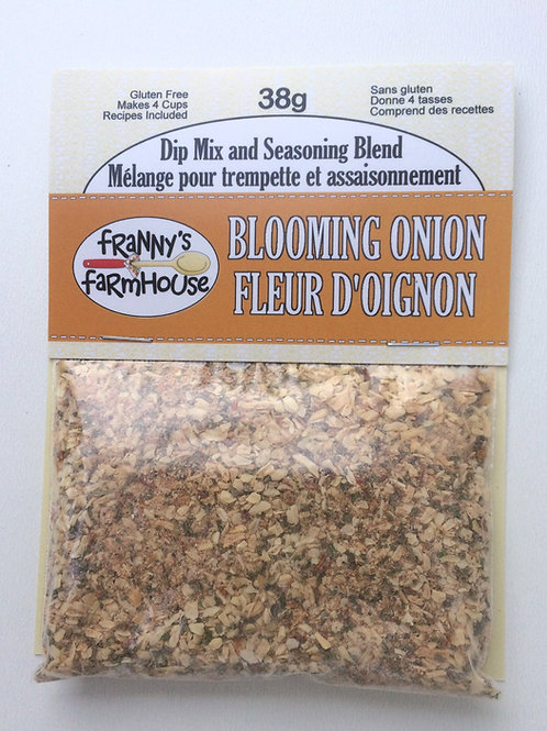 Blooming Onion Dip Mix and Seasoning Blend