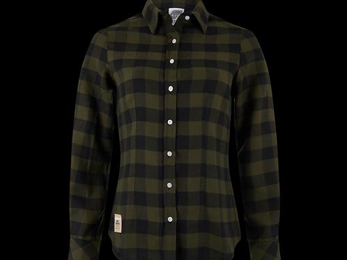 Kawasaki Plaid Shirt Fem