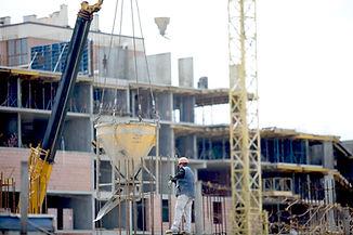 chantier de construction