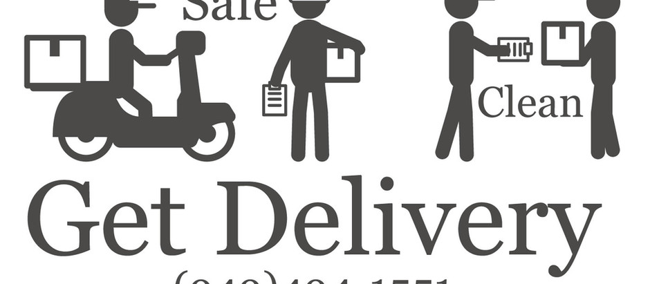 Due to the COVID-19 pandemic,We Deliver our food to your door