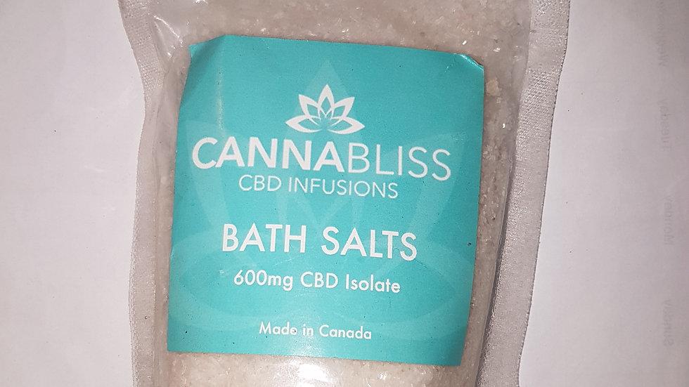 CANNABLISS BATH SALTS CBD INFUSION 600mg