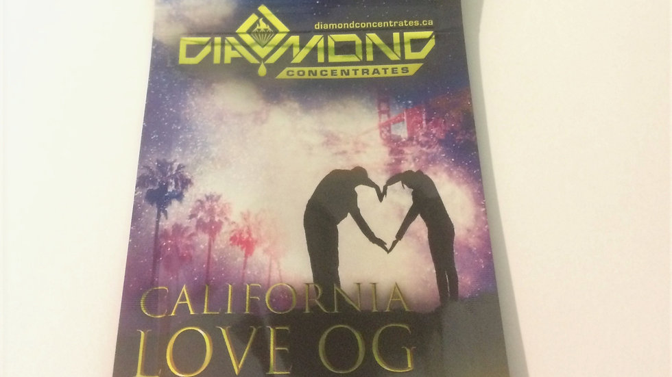 Diamond Concentrate-CALIFORNIA LOVE OG