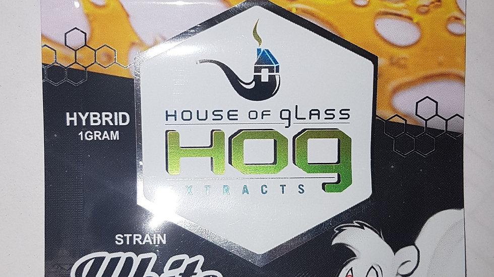 HOG Shatter-White Skunk