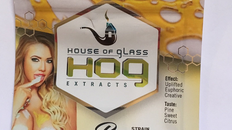 HOG Shatter-Banana Cream OG