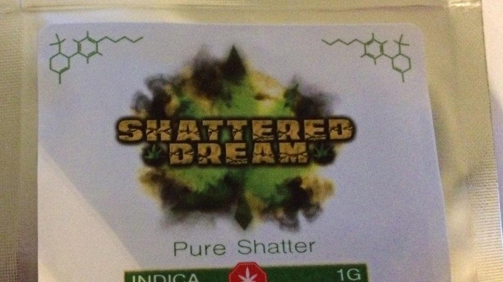 SHATTERED DREAM INDICA SHATTER