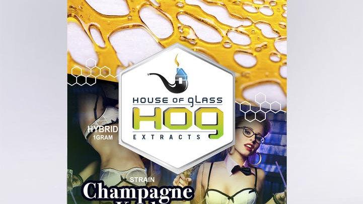 HOG Shatter-Champagne Kush