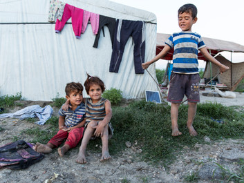 We had a beautiful life in Syria but now our children have lost their future' say refugee family