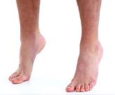 équilibre sur l'avant des pieds kinésithérapeute podologue beauvais auer philippe