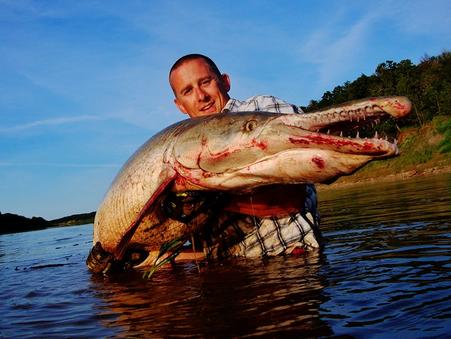 2013 Alligator Gar trip