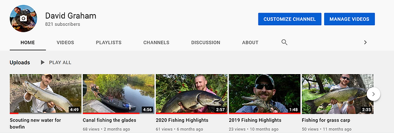 Click to see my Youtube channel