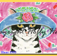 Cat w Hat