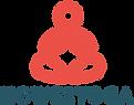 Howe2Yoga Logo - orange and teal.png