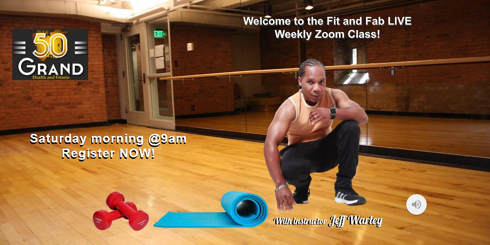 Fit and Fab LIVE! Weekly Zoom Fitness Class 4