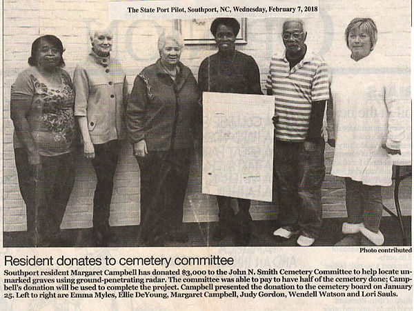 Donation Margaret Campbell Donation Camp