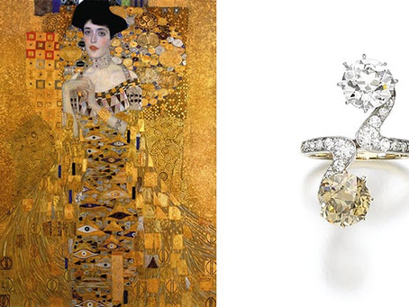 The Woman in Gold's Lyrical Diamond Ring