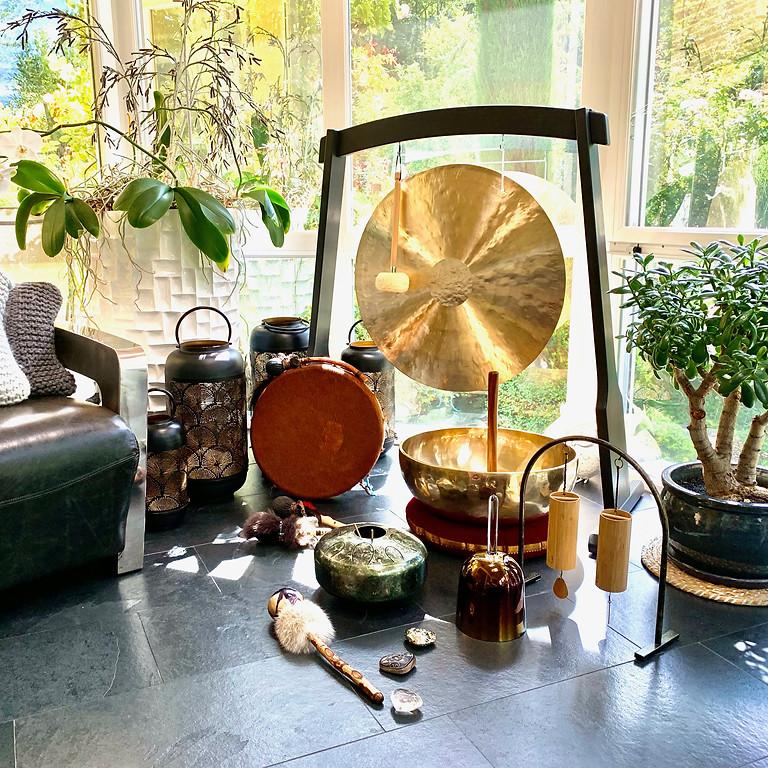 Méditation sons et voix intuitifs