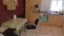 Bikerzimmer mit Küche.