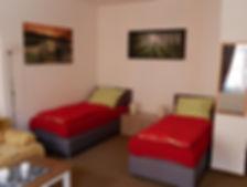 Die Wohnung ist ideal für Monteure.