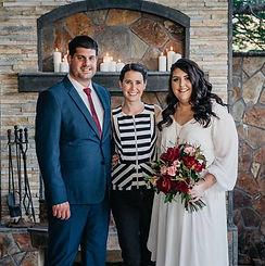 Weddin Coordinator with couple