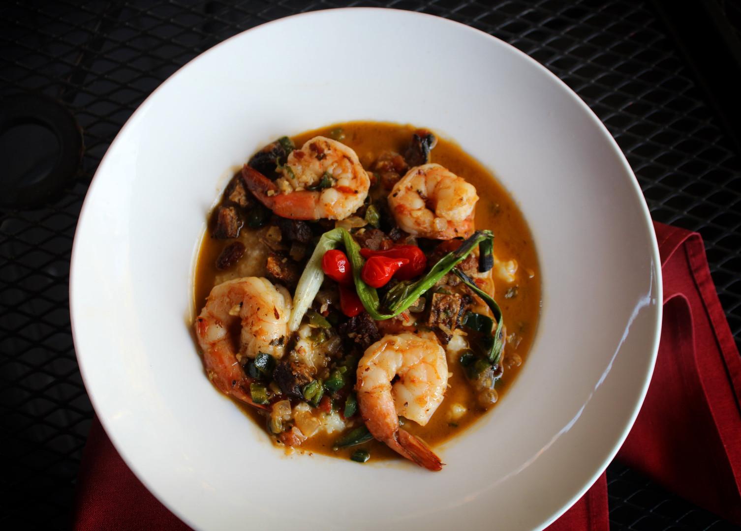 Agava Shrimp & Grits
