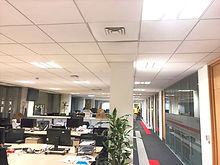 Suspended grid Ceilings