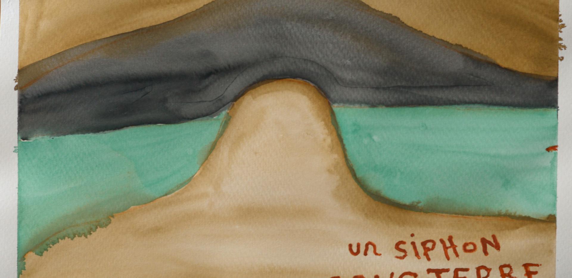Un siphon sous terre, 2014